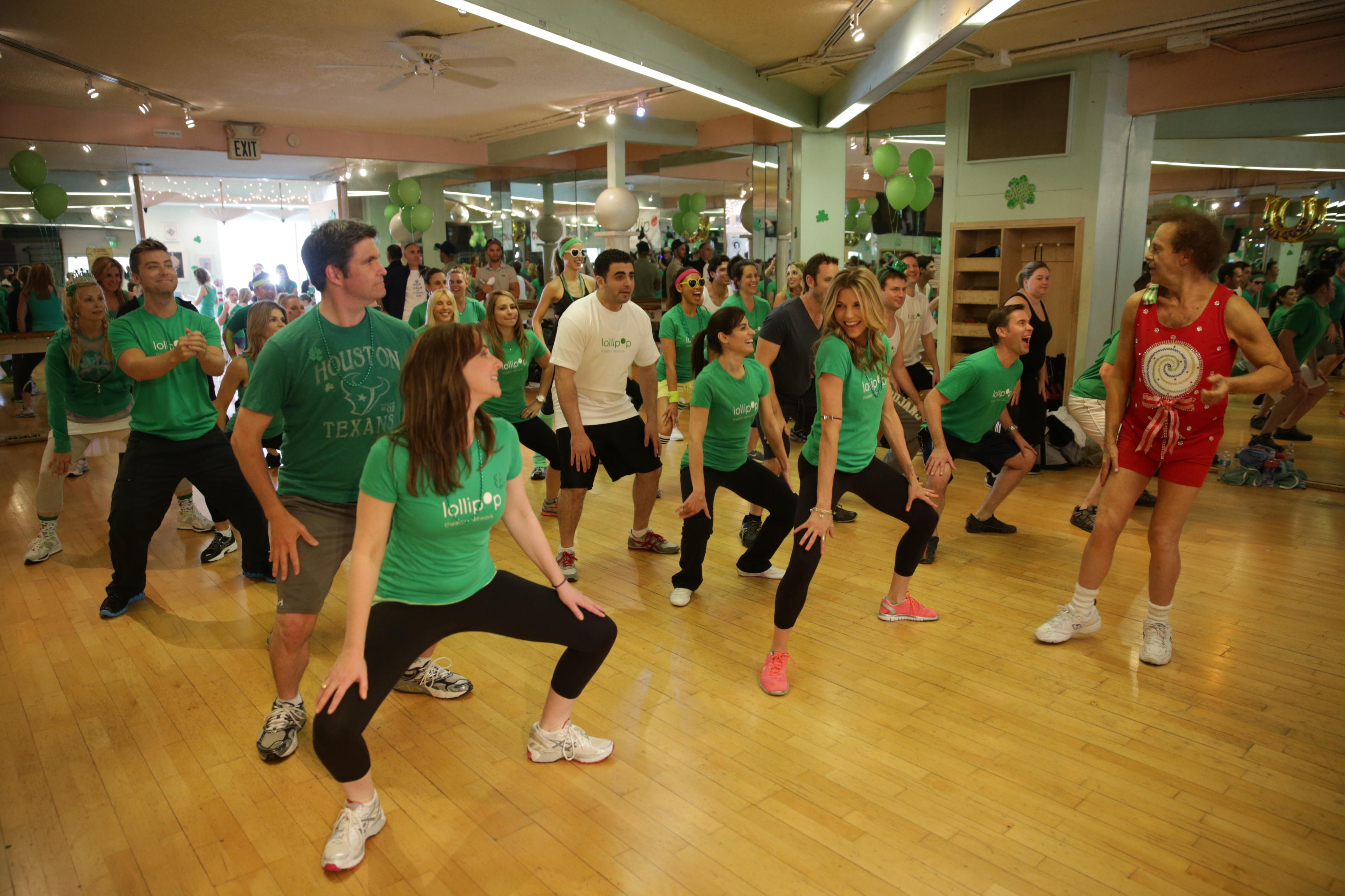 St. Paddy's Day Slimdown group exercise